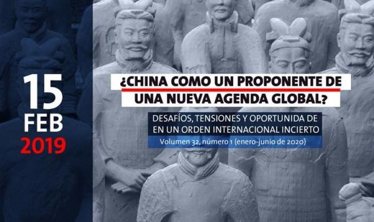 #Callforpapers Revista Desafios: ¿China como un proponente de una nueva agenda global?